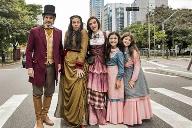 O Tempo Não Para - Os Sabino Machado (Globo/João Miguel Júnior)