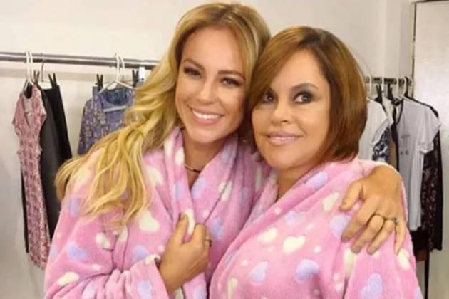 Paolla Oliveira com a mãe/Reprodução