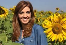 Poliana Abritta na gravação da série Fertilidade, Um Projeto de Vida (Globo/ Divulgação)