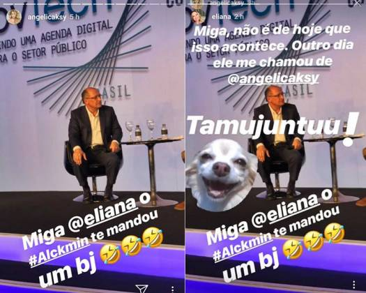 Post - Angélica e Eliana/Instagram