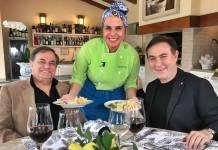 Ronnie Von com a filha e Amaury Jr/Divulgação