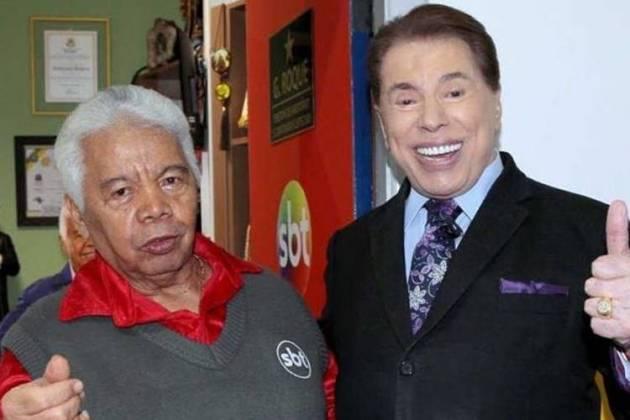 Roque e Silvio Santos/Instagram