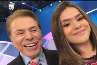 Silvio Santos e Maisa/Instagram
