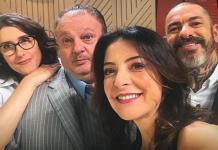 Paola Carosella, Eric Jacquin, Ana Paula Padrão e Henrique Fogaça/Instagram