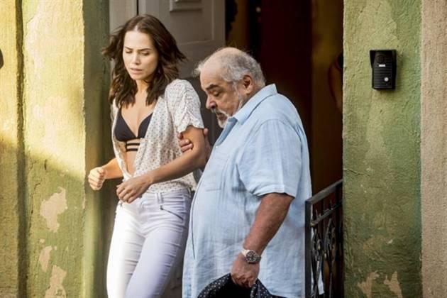 Segundo Sol - Agenor expulsa Rosa de casa (Globo/João Cotta)