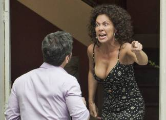 Segundo Sol - Cacau expulsa Edgar (Globo/Raquel Cunha)
