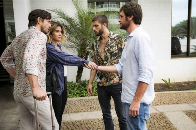 Segundo Sol - Luzia se livra de Remy (Globo/João Miguel Júnior)