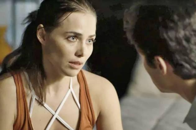 Segundo Sol - Rosa conversa com Valentim (Reprodução/TV Globo)
