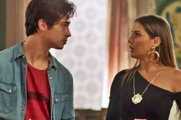 Segundo Sol - Valentim e Karola (Reprodução/TV Globo)