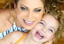 Sheila Mello e a filha - Divulgação