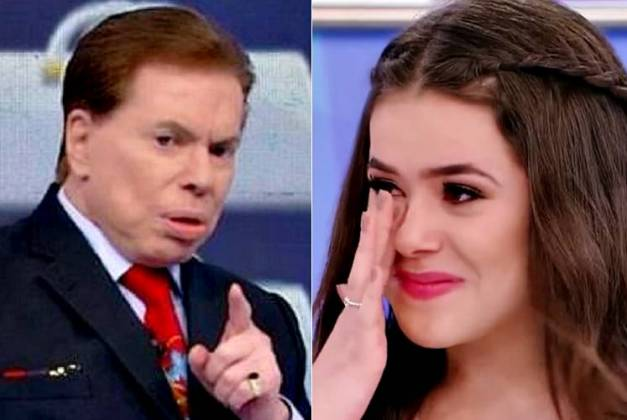 Silvio Santos e Maisa Silva / Reprodução / Montagem Área VIP