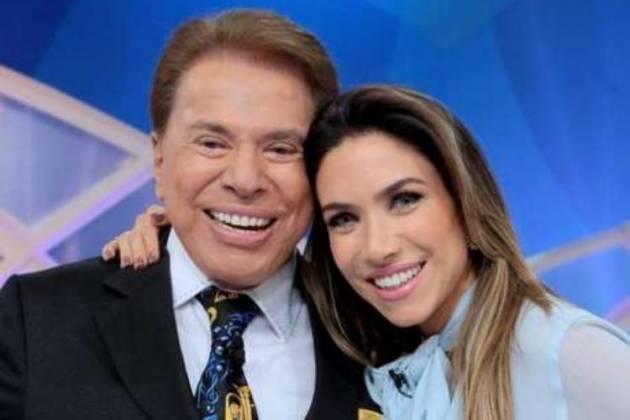 Silvio Santos e Patrícia Abravanel - Divulgação/SBT