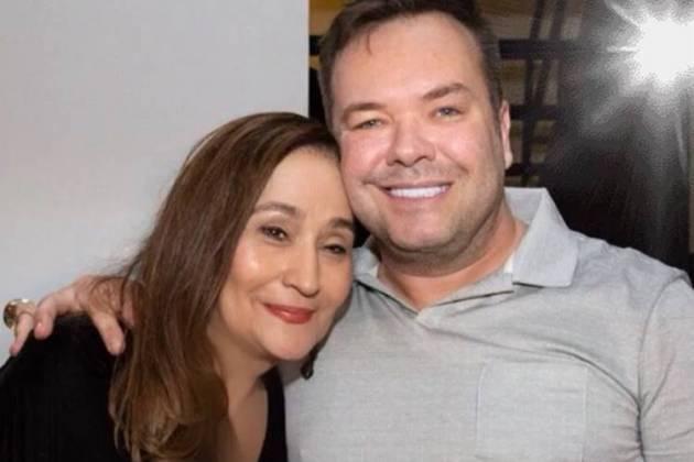 Sonia Abrão e Felipeh Campos/Instagram
