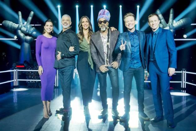 The Voice Brasil (Globo/Raquel Cunha)