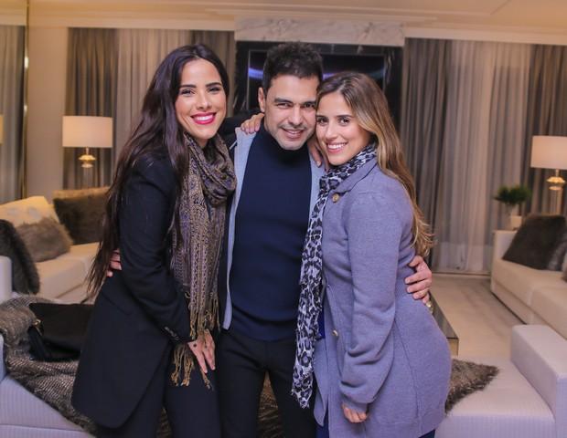 Zezé com as filhas/Instagram