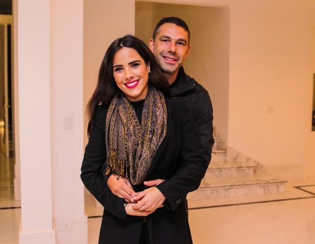Wanessa Camargo e o marido (Instagram)