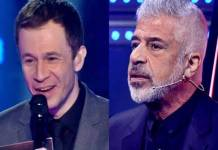 Tiago Leifert e Lulu Santos (Reprodução: TV Globo