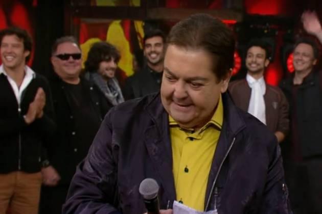 Time Masculino da Dança dos Famosos (Reprodução/TV Globo)