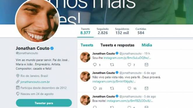 Twitter - Jonathan Couto