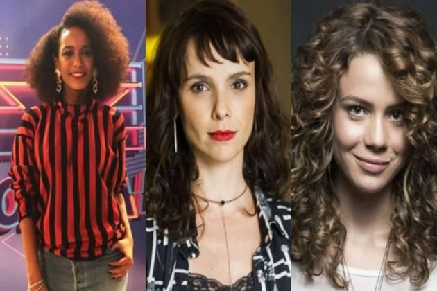 Taís Araújo, Débora Falabella e Leandra Leal - Montagem/Área VIP