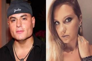 Carlinhos Mendigo e Aline Hauck - Montagem/Área VIP