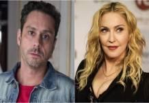 Alexandre Nero e Madonna - Montagem/Área VIP