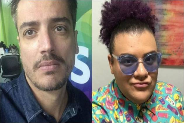 Leo Dias e Gominho - Montagem/Área VIP