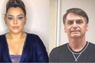 Preta Gil e Jair Bolsonaro/Instagram