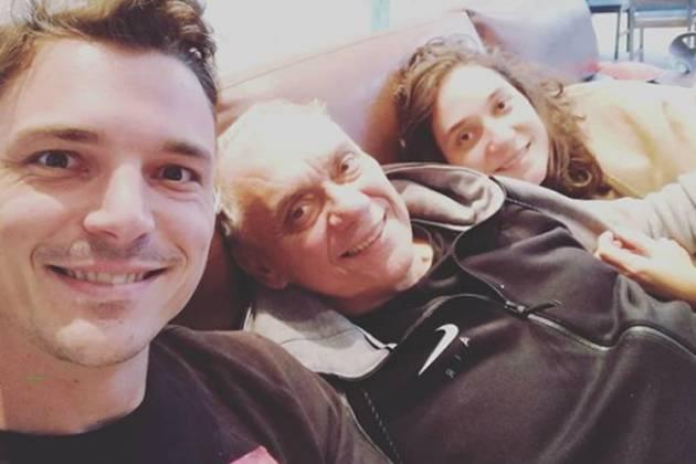 Diego Esteves e Marcelo Rezende - Reproduçao/Instagram