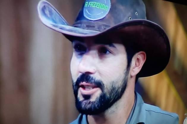 A Fazenda - Sandro Pedroso (Reprodução/Record TV)