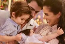 Adriana e Rodrigão com os filhos (Instagram/Foto:ane_fotografa)