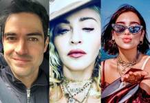 Alfonso Herrera - Madonna - Dua Lipa/Instagram