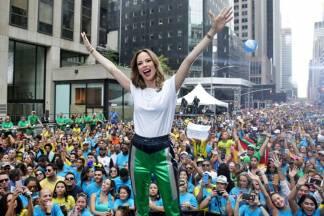 Ana Furtado no BR Day NY (Globo/ Luiz C. Ribeiro)