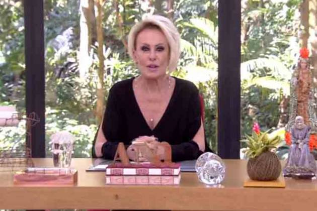Ana Maria Braga - Reprodução/Rede Globo