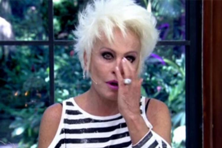 Ana Maria Braga lamenta morte de amigo na TV