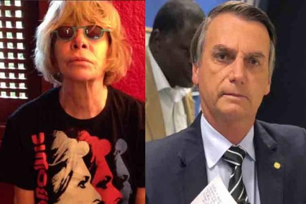 Rita Lee e Jair Bolsonaro - Reprodução/Instagram