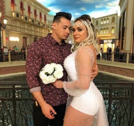 Casamento Felipe Franco e Juju Salimeni - Reprodução/Instagram