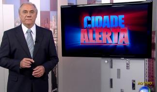 Marcelo Rezende no comando do Cidade Alerta - Reprodução/RecordTV