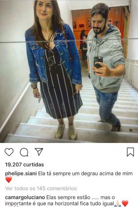 Comentário de Luciano/Instagram