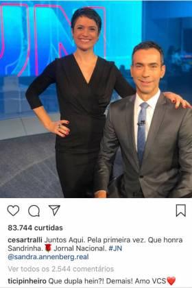 Comentário de Ticiane Pinheiro/Instagram