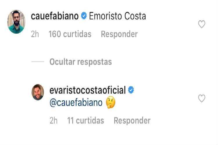 Comentários/Instagram