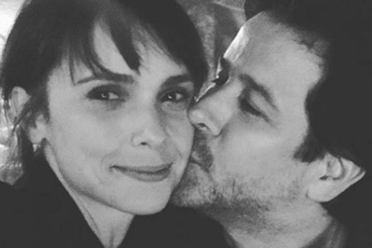 Débora Falabella e Murilo Benício aparecem em clima de romance na web
