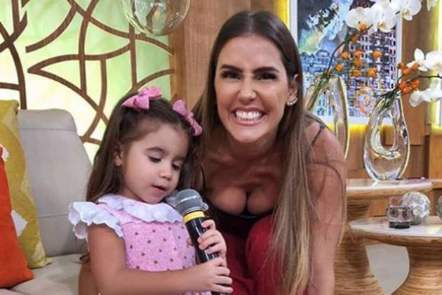Deborah Secco com a filha/Instagram