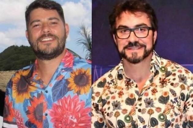 Evaristo Costa e Fábio de Melo/Instagram