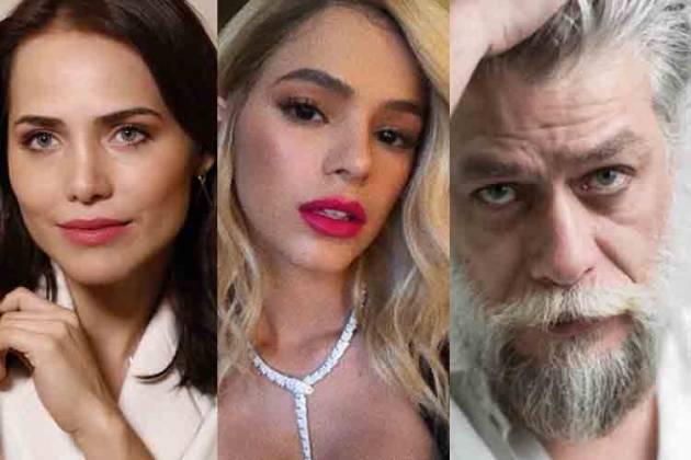 Letícia Colin, Bruna Marquezine e Fábio Assunção - Reprodução/Instagram