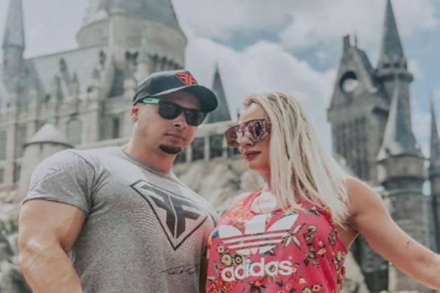 Felipe Franco e Juju Salimeni/Instagram