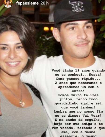 Fernanda Paes Leme e Thiago Martins - Reprodução/Instagram