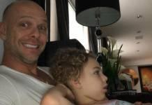 Fernando Scherer e a filha - Reprodução/Instagram