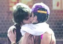 Fiuk da beijo em bailarina (Reprodução/TV Globo)