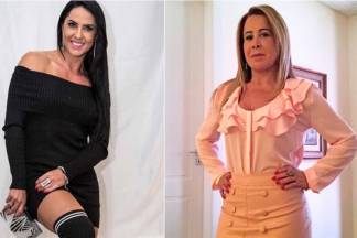 Graciele Lacerda e Zilu Camargo/Instagram